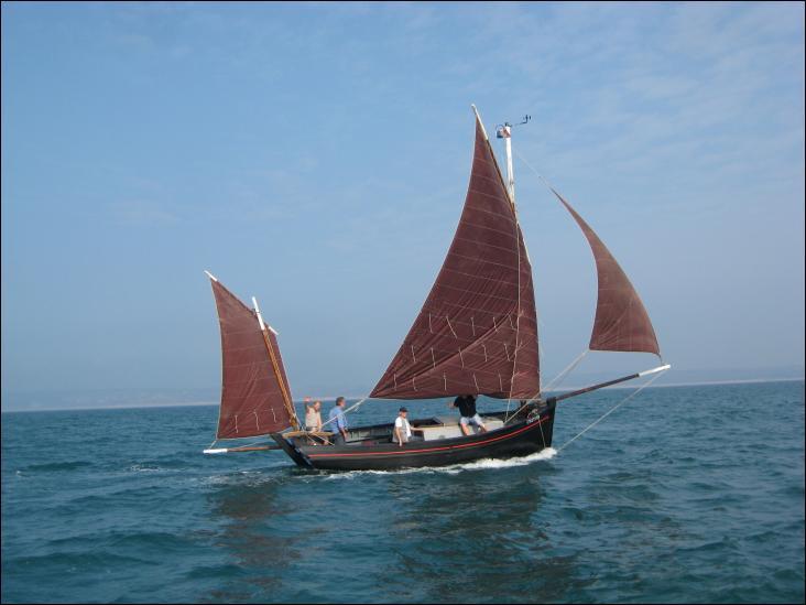 La Petite Lucette Vaquelotte voilier de pêche