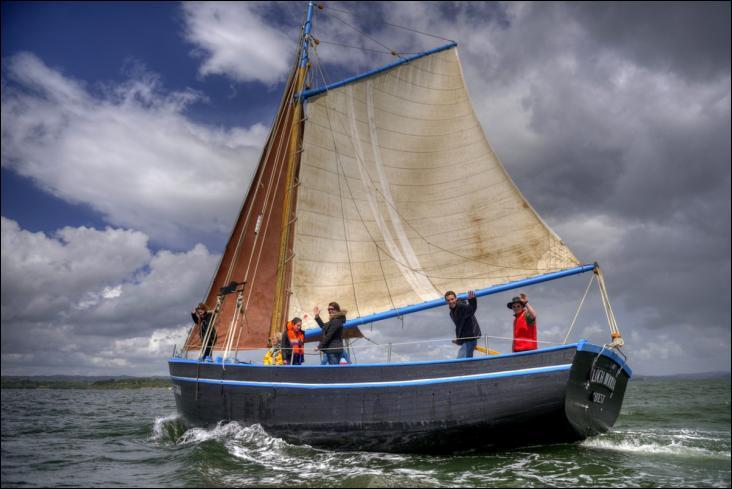 Le Loch Monna est un sloop coquillier