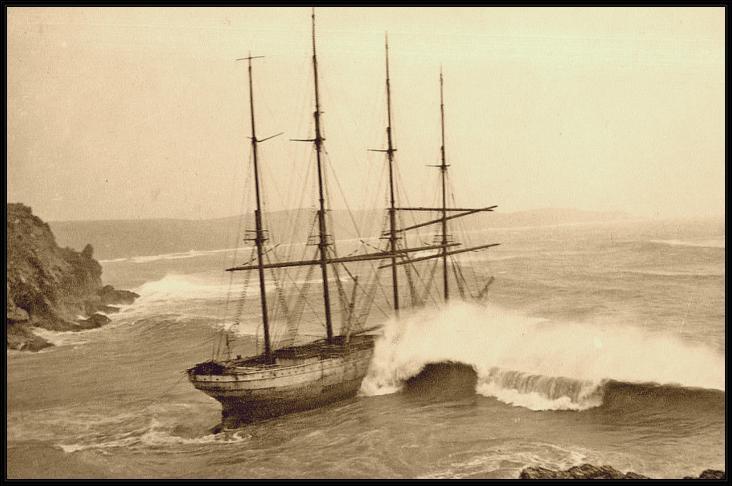 Le Herzogin Cecilie est un célèbre quatre-mâts barque