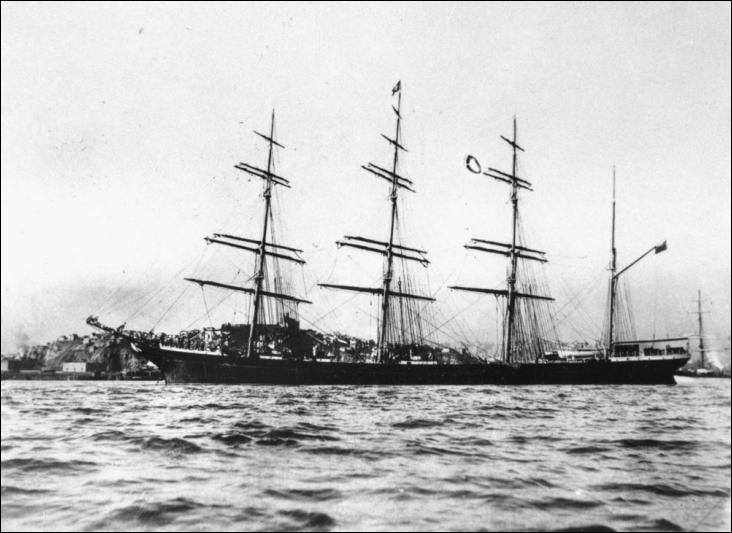 Dundonald etait un quatre-mâts barque