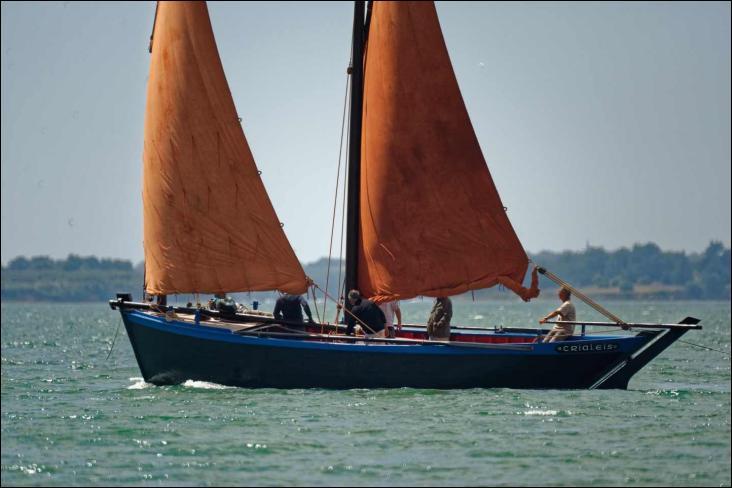 Le Crialeïs est un sinagot bateau de pêche traditionnel breton