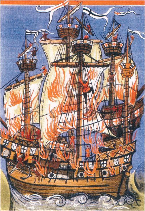 La Cordelière, ou Marie-la-Cordelière, est une caraque bretonne