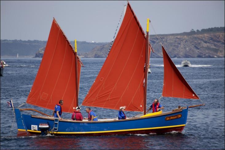 La frétoise est un canot-major restauré