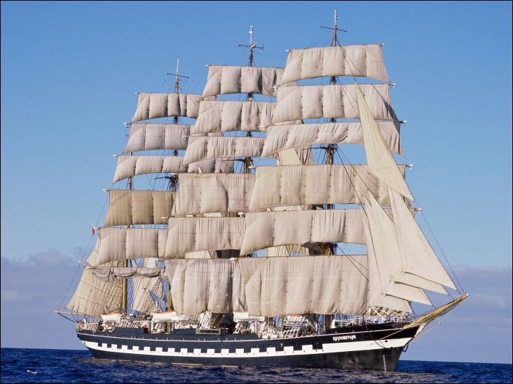 Quatre-mâts barque