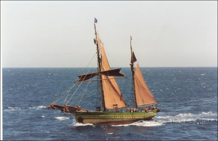 L'Anna-Kristina, Dyrafjeld est un ancien Hardangerjakt norvégien