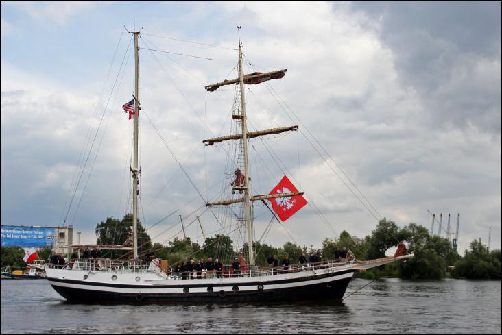 Le Kapitan Glowacki est un brick-goélette lancé en Pologne
