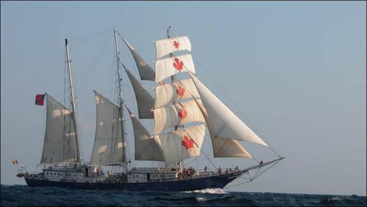 Le S.V. Concordia est un trois-mâts goélette