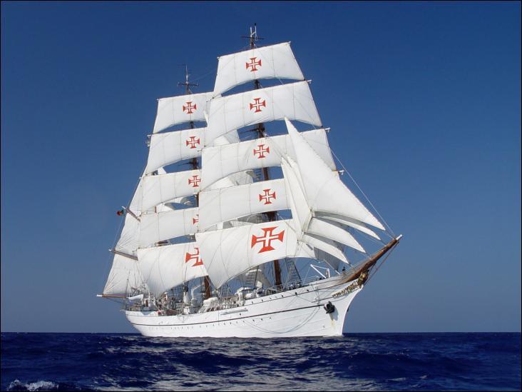 Le NRP Sagres, ou Sagres III, est un trois-mâts barque