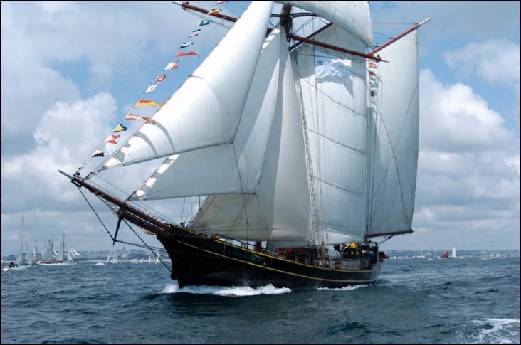 Le Jacob Meindert est un schooner néerlandais